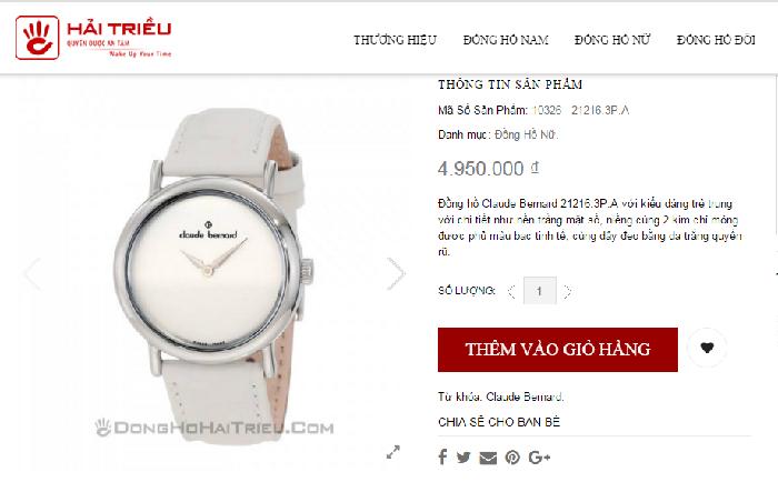 đồng hồ chính hãng tại tphcm muốn là có ngay 2