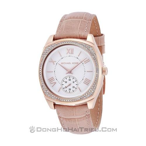 tham khảo các mẫu đồng hồ nữ dây da đẹp 1