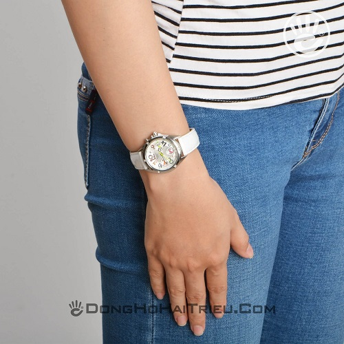 tham khảo các mẫu đồng hồ nữ dây da đẹp 4